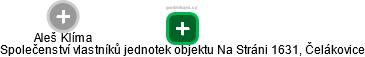 Aleš Klíma - Obrázek vztahů v obchodním rejstříku