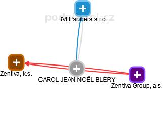 CAROL JEAN NOËL BLÉRY - Obrázek vztahů v obchodním rejstříku