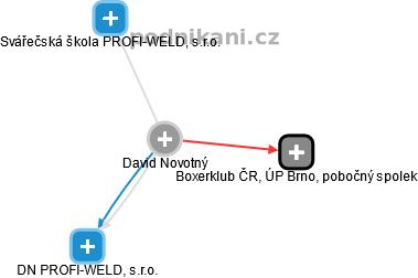 David Novotný - Obrázek vztahů v obchodním rejstříku