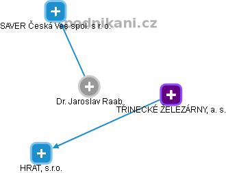 Jaroslav Raab - Obrázek vztahů v obchodním rejstříku