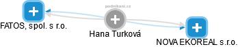 Hana Turková - Obrázek vztahů v obchodním rejstříku