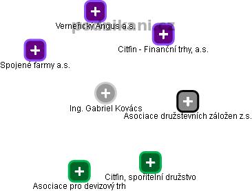 Gabriel Kovács - Obrázek vztahů v obchodním rejstříku