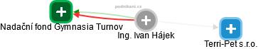 Ivan Hájek - Obrázek vztahů v obchodním rejstříku