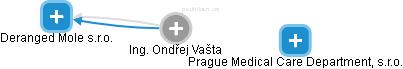 Ondřej Vašta - Obrázek vztahů v obchodním rejstříku