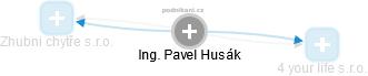 Pavel Husák - Obrázek vztahů v obchodním rejstříku