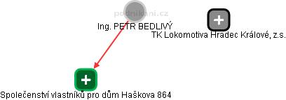 PETR BEDLIVÝ - Obrázek vztahů v obchodním rejstříku
