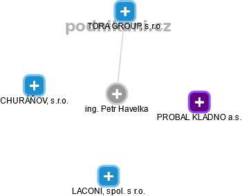 Petr Havelka - Obrázek vztahů v obchodním rejstříku
