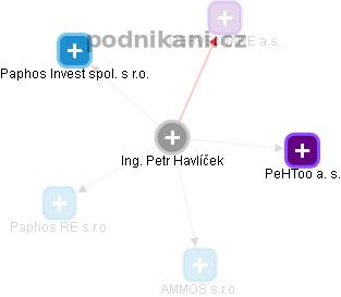Petr Havlíček - Obrázek vztahů v obchodním rejstříku