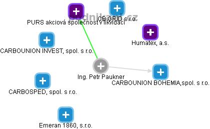 Petr Paukner - Obrázek vztahů v obchodním rejstříku