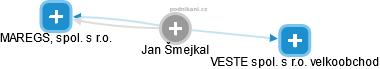 Jan Šmejkal - Obrázek vztahů v obchodním rejstříku