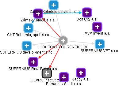TOMÁŠ CHRENEK - Obrázek vztahů v obchodním rejstříku