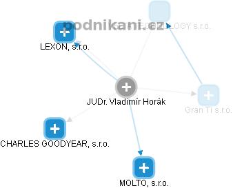 Vladimír Horák - Obrázek vztahů v obchodním rejstříku