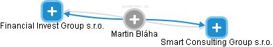 Martin Bláha - Obrázek vztahů v obchodním rejstříku