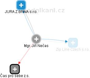 Jiří Nečas - Obrázek vztahů v obchodním rejstříku