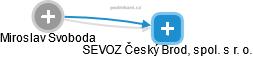 Miroslav Svoboda - Obrázek vztahů v obchodním rejstříku