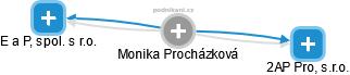 Monika Procházková - Obrázek vztahů v obchodním rejstříku