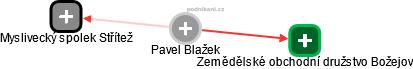 Pavel Blažek - Obrázek vztahů v obchodním rejstříku