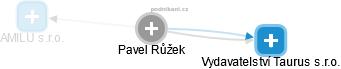 Pavel Růžek - Obrázek vztahů v obchodním rejstříku