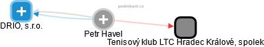 Petr Havel - Obrázek vztahů v obchodním rejstříku