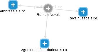 Roman Novák - Obrázek vztahů v obchodním rejstříku