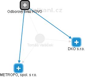 Tomáš Valášek - Obrázek vztahů v obchodním rejstříku