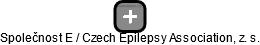 Společnost E / Czech Epilepsy Association, z. s. - náhled vizuálního zobrazení vztahů obchodního rejstříku
