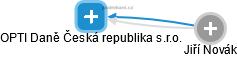 OPTI Daně Česká republika s.r.o. - náhled vizuálního zobrazení vztahů obchodního rejstříku