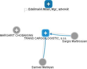 TRANS CARGO LOGISTIC, s.r.o. - náhled vizuálního zobrazení vztahů obchodního rejstříku
