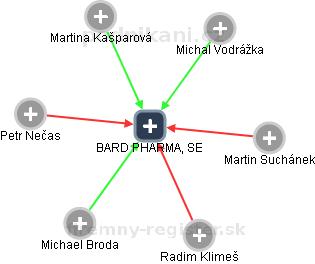 BARD PHARMA, SE - náhled vizuálního zobrazení vztahů obchodního rejstříku