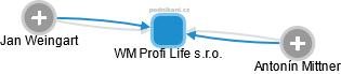 WM Profi Life s.r.o. - náhled vizuálního zobrazení vztahů obchodního rejstříku