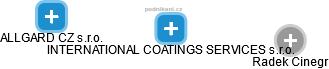 INTERNATIONAL COATINGS SERVICES s.r.o. - náhled vizuálního zobrazení vztahů obchodního rejstříku