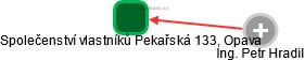 Společenství vlastníků Pekařská 133, Opava - náhled vizuálního zobrazení vztahů obchodního rejstříku