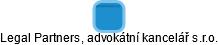 Legal Partners, advokátní kancelář s.r.o. - obrázek vizuálního zobrazení vztahů obchodního rejstříku
