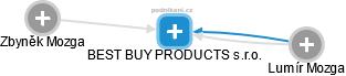 BEST BUY PRODUCTS s.r.o. - náhled vizuálního zobrazení vztahů obchodního rejstříku