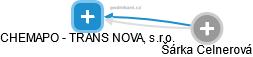 CHEMAPO - TRANS NOVA, s.r.o. - náhled vizuálního zobrazení vztahů obchodního rejstříku