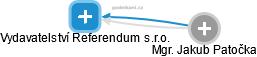 Vydavatelství Referendum s.r.o. - náhled vizuálního zobrazení vztahů obchodního rejstříku
