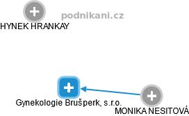 Gynekologie Brušperk, s.r.o. - náhled vizuálního zobrazení vztahů obchodního rejstříku