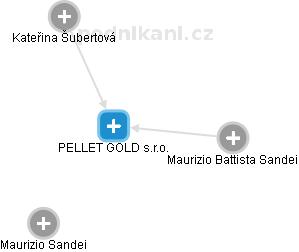 PELLET GOLD s.r.o. - obrázek vizuálního zobrazení vztahů obchodního rejstříku