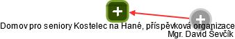 Domov pro seniory Kostelec na Hané, příspěvková organizace - náhled vizuálního zobrazení vztahů obchodního rejstříku